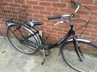 """Ladies 17"""" Downtown town style, step through bike bicycle. Free delivery"""