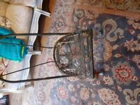 Iron back nursing chair to re upholster