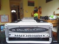 Used Gallien Krueger amp head