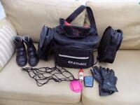 Biking bits with Bags