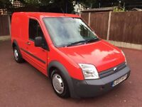07 PLATE FORD TRANSIT CONNECT 1.8 DIESEL SIDE DOOR 2 OWNERS LONG MOT DRIVES GREAT