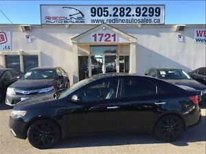 2011 Kia Forte 2.4L SX Luxury, Leather, Sunroof, WE APPROVE ALL