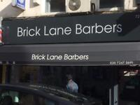 Barbers wanted full time/part time in Brick Lane/Shoreditch