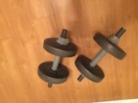 TRAINING WEIGHTS