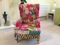 Child's patchwork armchair