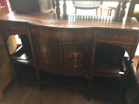 Large Chiffonier - Good quality and condition . Lovely detail . Made By Paterson and Innes