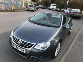 Volkswagen EOS Golf 2.0 tdi sport convertible manual 2007