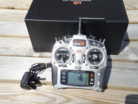 Spektrum DX8 Transmitter for Radio Controlled RC Helicopters Planes Drones Gliders Models