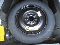 Volvo S40 2004 Space Saver Wheel 125/90 15 Good Condition.