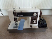 Please can someone help me set up this old Singer sewing machine?