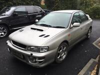 Subaru Impreza Uk2000 turbo classic