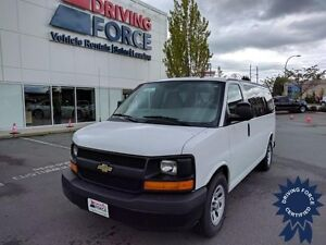 2013 Chevrolet Express LS 8 Passenger All Wheel Drive, 5.3L V8