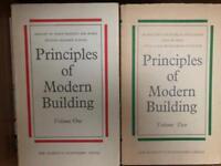 Books: Principles of Modern Building
