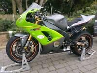 Kawasaki zx6r B1H Track bike