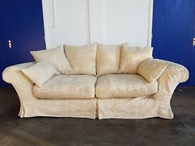 LUXURY TETRAD ALICIA LOOSE COVER SOFA HIGH QUALITY FABRIC SETTEE SUITE DELIVERY AVAILABLE