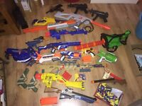 Toy Gun Bundle / Nerf / Electronic / Shadow Hawk