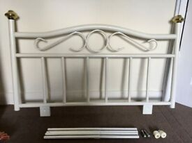 Quality Pretty HEADBOARD for single Bed (2 available) - No damage excellent condition