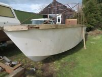 Canal / River Boat Hull 24ft Project