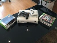 XBOX 360 2Gen with 10 Games £30