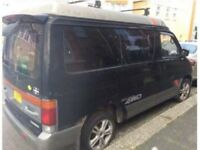 Mazda bongo camper project, pop top roof