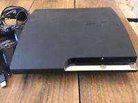PS3 very good condition, 149gb, with all leads, x2 controllers, & 9 games
