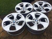 Genuine BMW alloy wheels - turbine - BARGAIN! CHEAP!