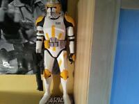 star wars giant figure commander Cody