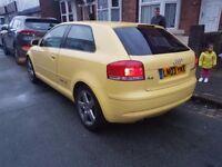 Audi A3 2.0TDi. Sport. 6 Speed. +Remap!!!