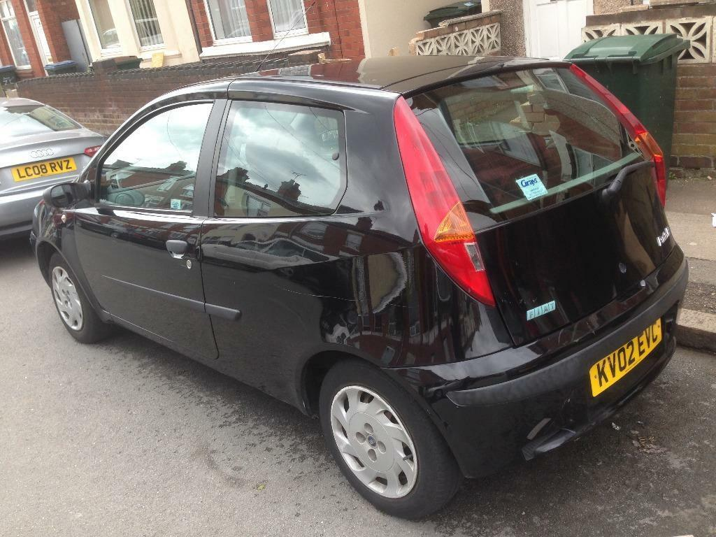 2002 fiat punto 1 2 16v petrol in coventry west midlands gumtree. Black Bedroom Furniture Sets. Home Design Ideas