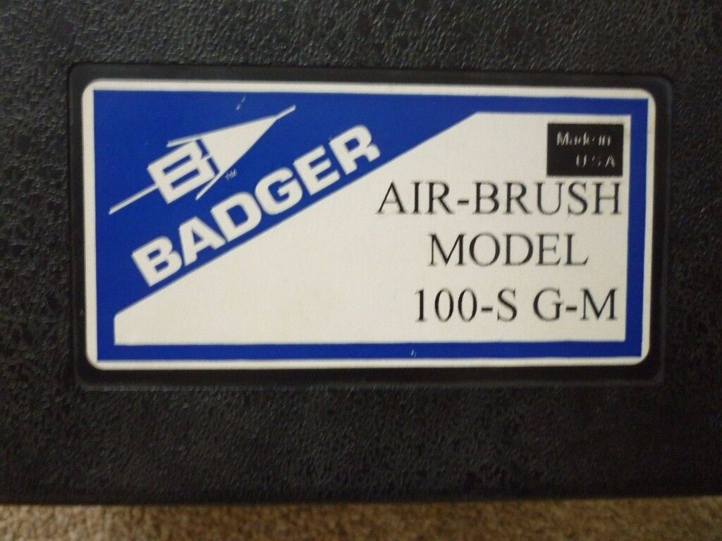 Badger gravity feed series air brushes