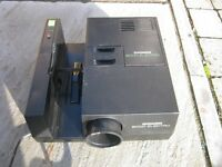 CHINON SLIDE PROJECTOR WITH MANUAL
