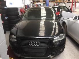 Audi A3 black edition salvage repairable