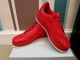 Brand New in Box Nike Air Force 1 LV8 Gym Red - Size 8