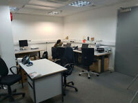 Desk Spaces to Share Available in Stratford - Shared Office space to rent £200