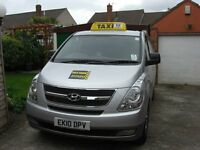 Hyundai I800, Taxi,7 seater plated South Glos July 2017 new engine fitted at 135000 miiles