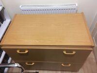 wide Beech Filing cabinet