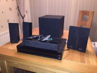 Sony BDV-E280 Blu-Ray player and 5.1 channel surround sound system