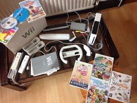 Nintendo Wii for sale with games and extras