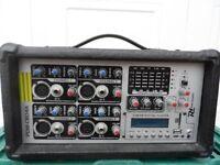 Power Dynamics (PDM-C804A) mixer amp.