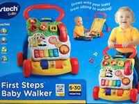 Vtech First Steps Baby Walker (BOXED) Excellent Condition !! (£10ono)