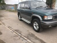 1998 Isuzu trooper lwb citation 3.1 diesel