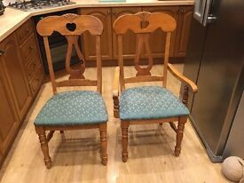 Dining room chairs. LANGBANK