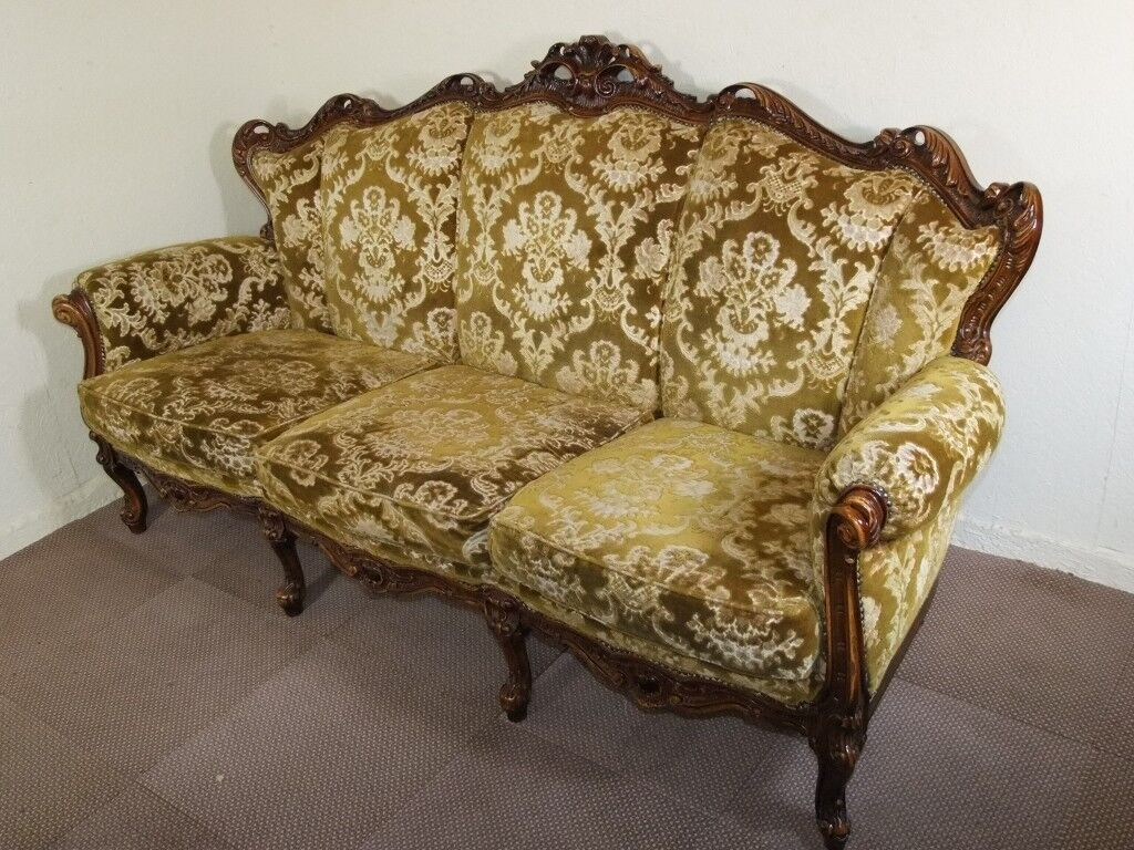 Large Vintage Italian French Louis
