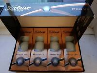 Brand New Teitleist Pro VI & Callaway Chrome Softs