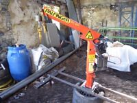 Palfinger PC801 450kg Crane 2003 with Warn Winch