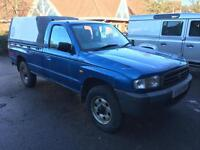 Mazda B2500 pickup 83k miles spares or repair