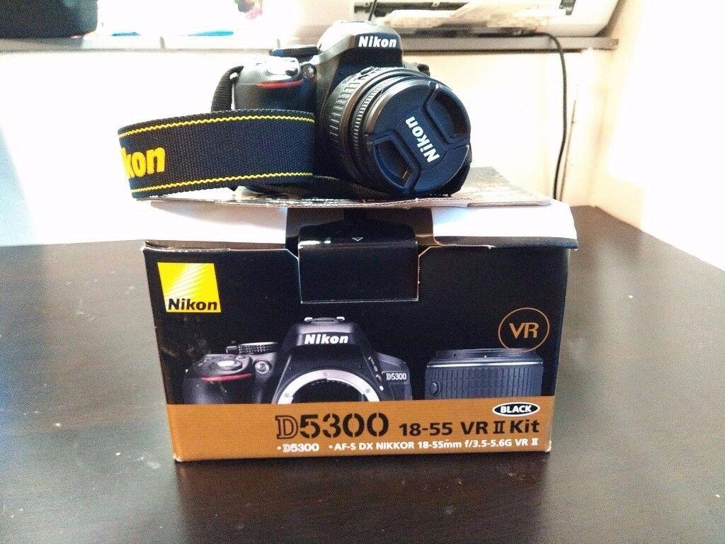Nikon D5300 Af S 18 55 Vrii In Cathays Cardiff Gumtree Kamera Dslr Lensa Kit 55mm Vr Ii