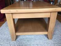 Oak Coffee Table. (From The Living Room)