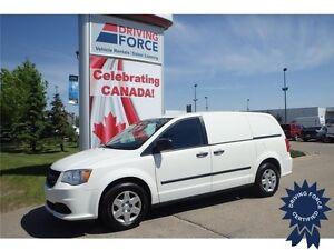 2013 Ram Cargo Van Front Wheel Drive - 96,650 KMs, 3.6L V6 Gas