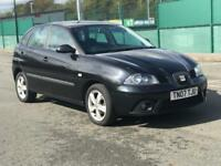 2007 SEAT IBIZA SPORT 1.2* ALLOYS * 5 DOOR * LONG MOT * SERVICE HISTORY * PX * DELIVERY AVAILABLE